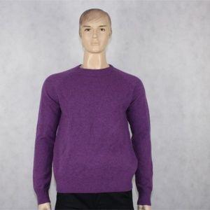 J.CREW Men's 100% Lambs Wool Sweater